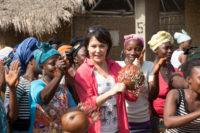 Janina Hartwig in Sierra Leone